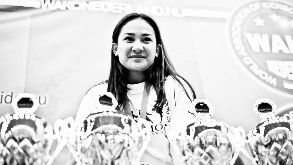 Soraya Wahjudi Best competitor of the Yokoso Dutch Open 2015 photo by Vanessa van Gasselt